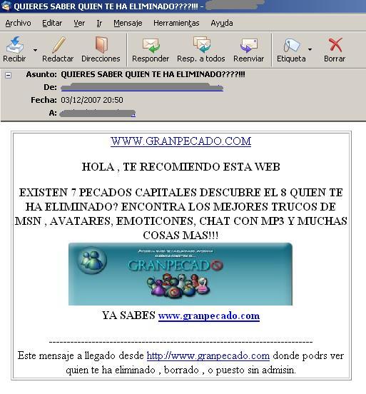 Contactos MSN I