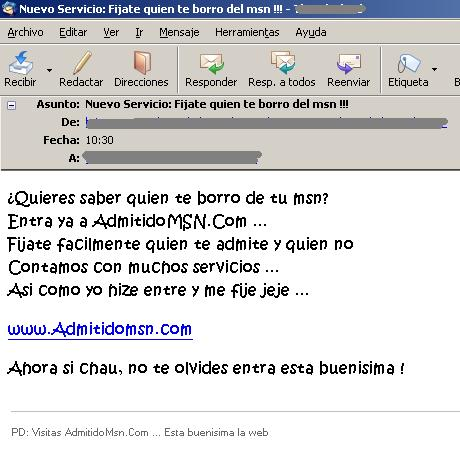 Contactos MSN II