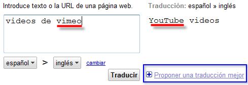 Enseñemos a traducir a Google