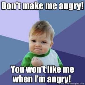 No te enojes